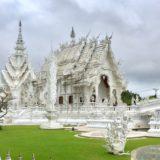 タイのホワイトテンプル(ワット・ロンクン)は幻想的なフォトジェニックスポット【北タイ】