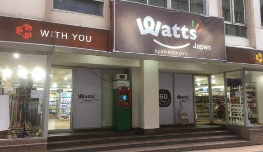 何か困ったらプロンポンのWatts(ワッツ)へ行こう【バンコクの60バーツ均一ショップ】