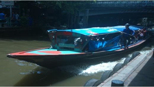 【プロが教える!タイ旅行ワンポイントアドバイス】 ③使いこなすと超便利!バンコク中心部を駆け巡る「センセープ運河ボート」