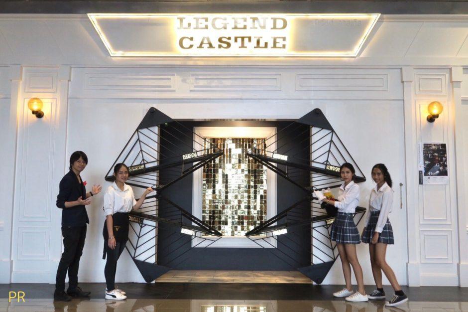 タイ・バンコクのマジックバー&カフェ「legend-castle」レジェンドキャッスルの店舗