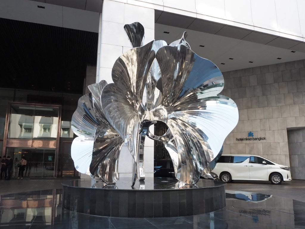 ホテル・ニッコー・バンコク(日航ホテル)のエントランス