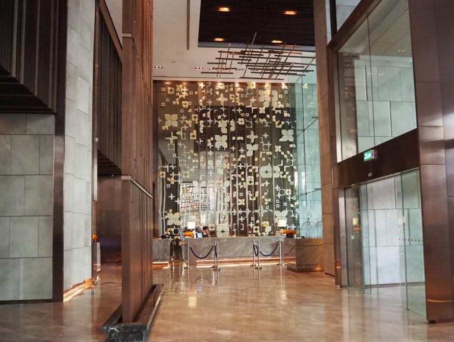 ホテル・ニッコー・バンコク(日航ホテル)のロビー