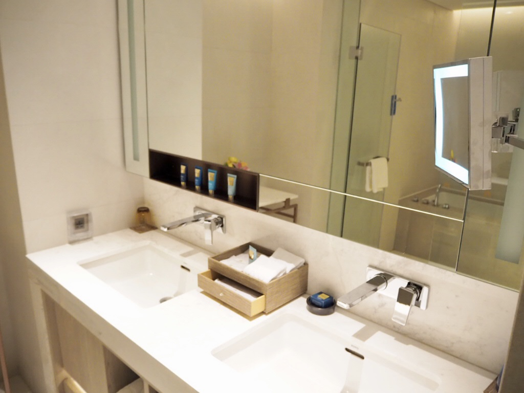 ホテル・ニッコー・バンコク(日航ホテル)の洗面台