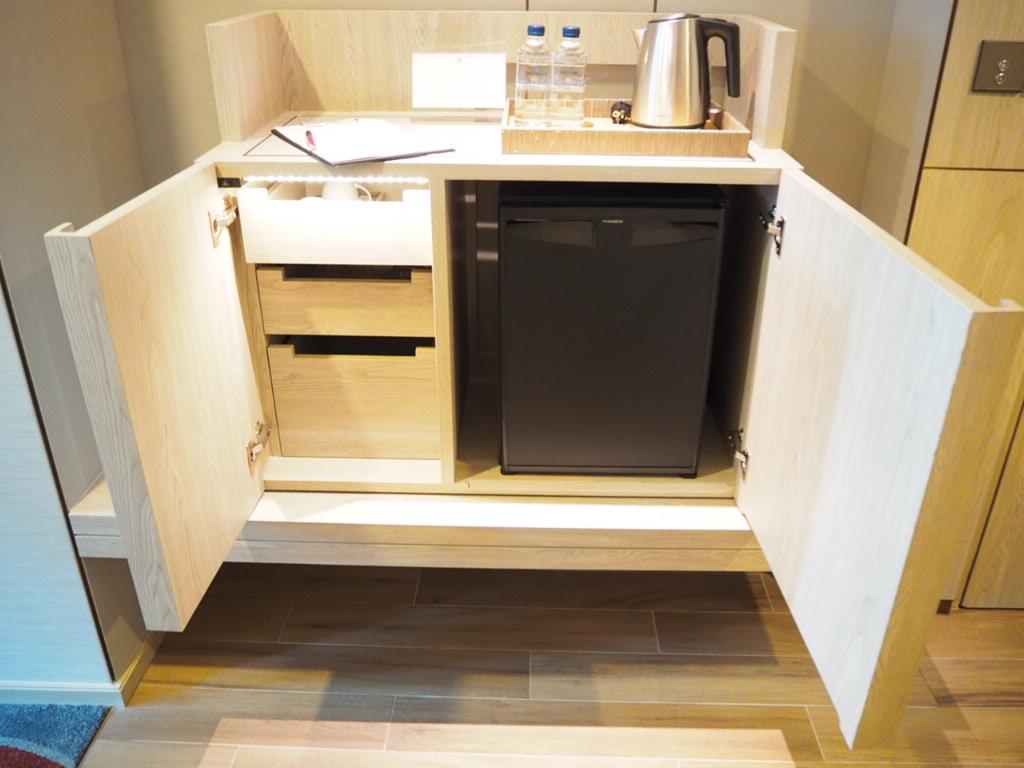 ホテル・ニッコー・バンコク(日航ホテル)の冷蔵庫