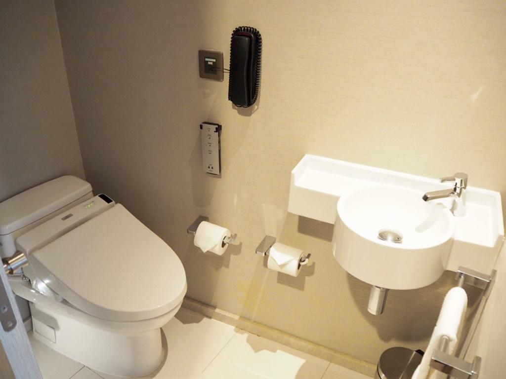 ホテル・ニッコー・バンコク(日航ホテル)のTOTOウォシュレットトイレ