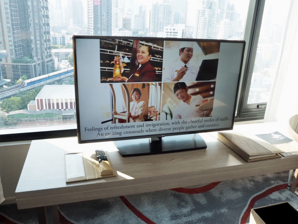 ホテル・ニッコー・バンコク(日航ホテル)の日本語チャンネル視聴可能なテレビ