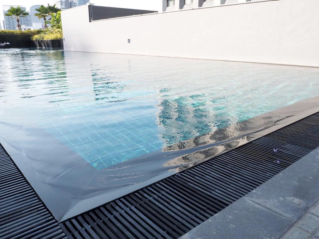 ホテル・ニッコー・バンコク(日航ホテル)のプール