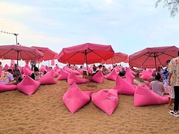 Tutu Beachの様子