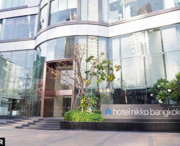ホテル・ニッコー・バンコク(日航ホテル)の外観