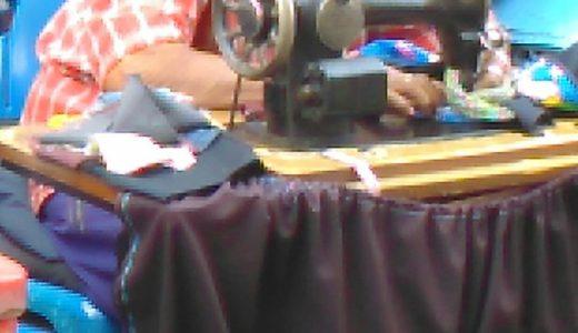 タイ・バンコク 服やリュックの補修は「屋台テーラー」が安くて便利!