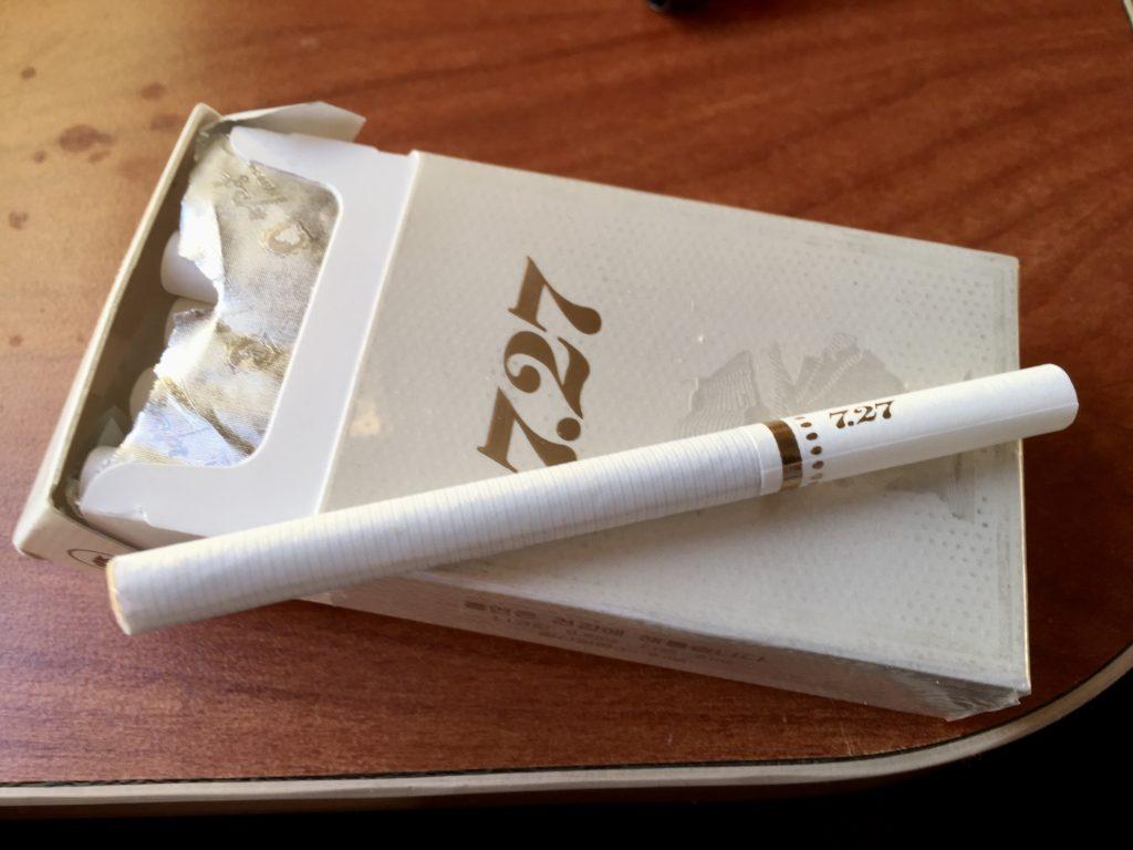 北朝鮮産のタバコ7.27