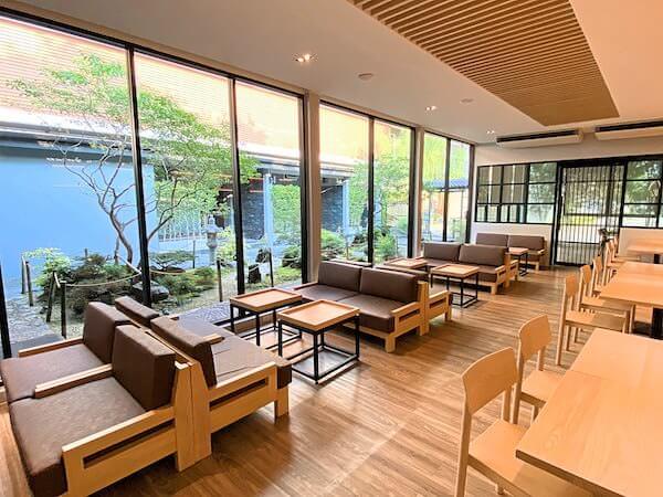 Dzen Onsen and Spaのカフェ