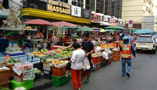 バンコクのローカル市場で青果を買ったら激安だった話