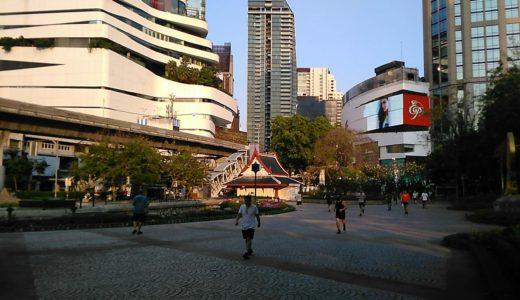 バンコク・日本人街の憩いのオアシス・ベンジャシリ公園