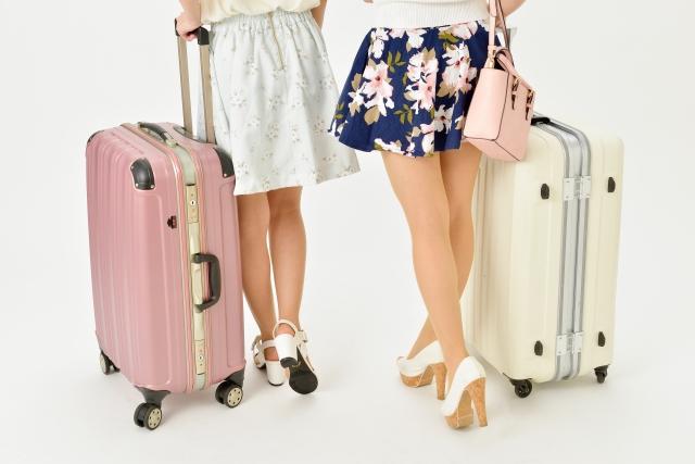 タイ・バンコク旅行に向かう女子二人組