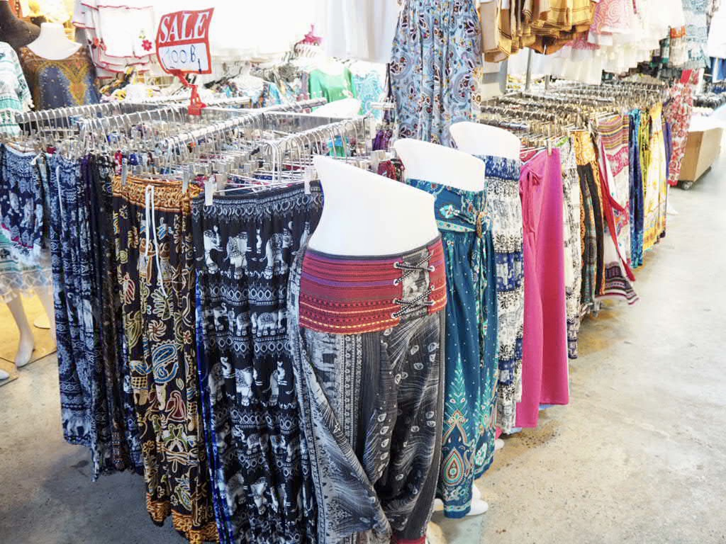 タイ・バンコクの女子旅におすすめなタイパンツ