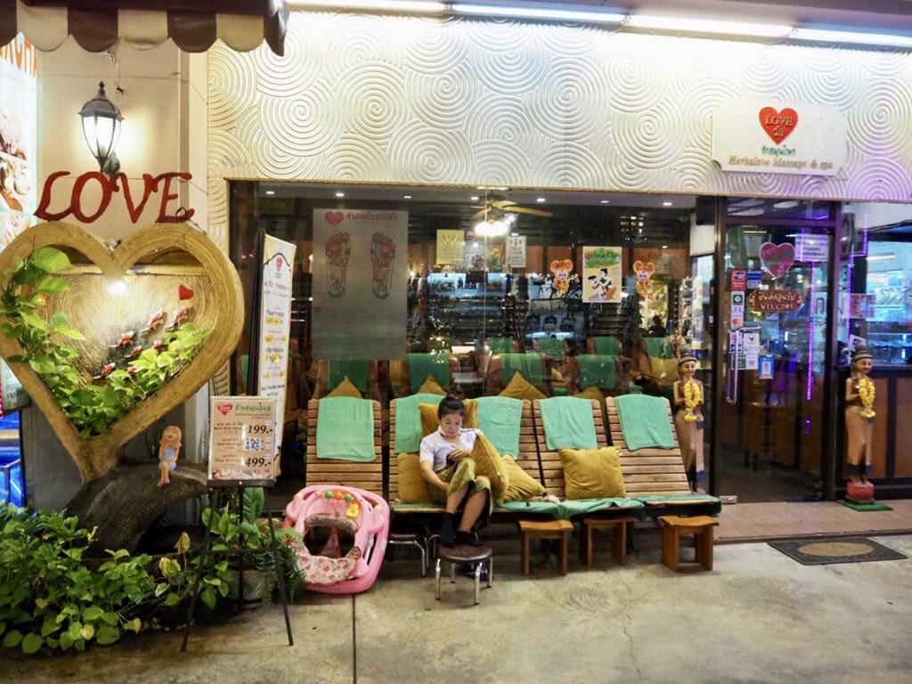 アジアティーク・ザ・リバーフロントにあるタイマッサージ店