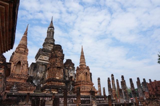 タイ・スコータイの遺跡