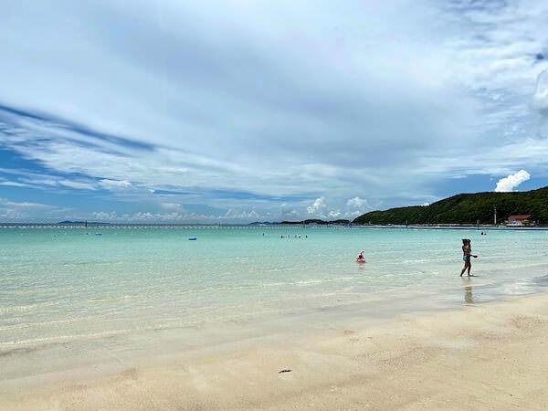 ラン島のタワエンビーチ1
