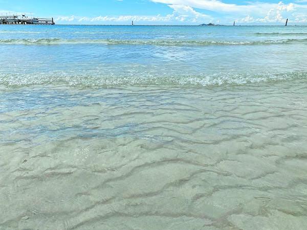 ラン島のタワエンビーチ3