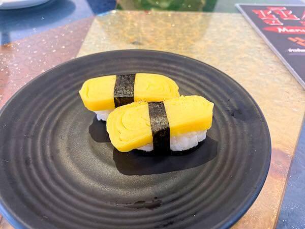 パタヤ・スクンビットの寿司屋「sushi Masi」で食べたたまご