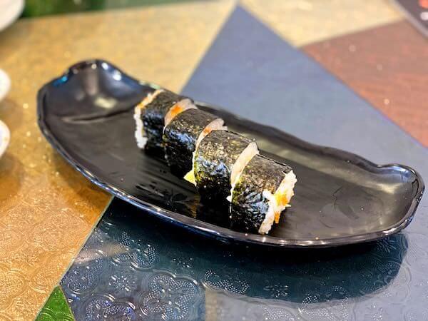 パタヤ・スクンビットの寿司屋「sushi Masi」で食べた巻物2