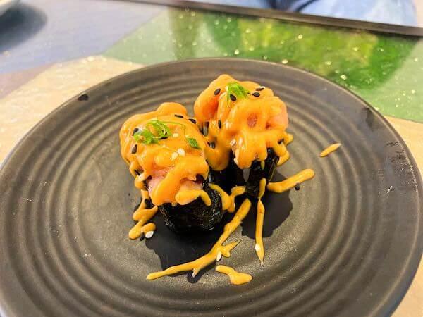 パタヤ・スクンビットの寿司屋「sushi Masi」で食べた寿司