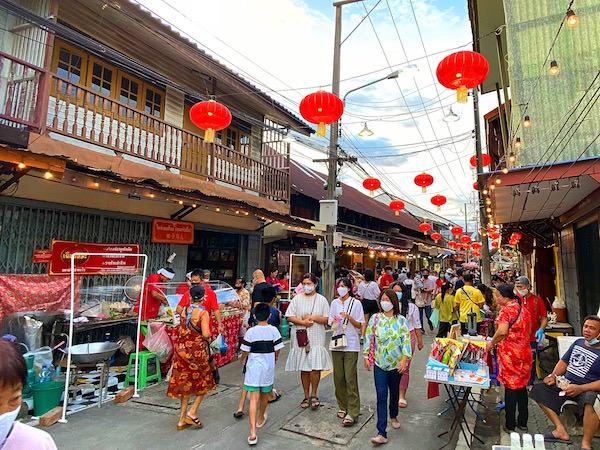 バーン チャック ンゲーオ(Ban Chak Ngaew)の街並み