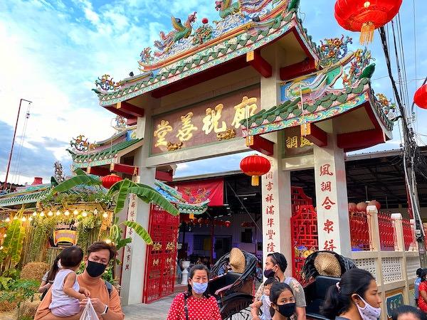 バーン チャック ンゲーオ(Ban Chak Ngaew)の中華寺院