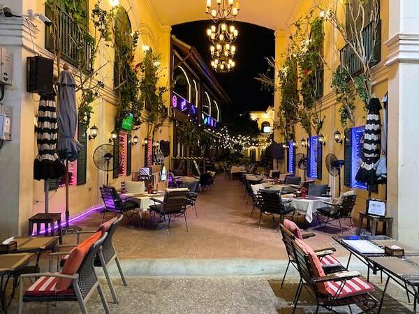 カオサン通りのレストラン