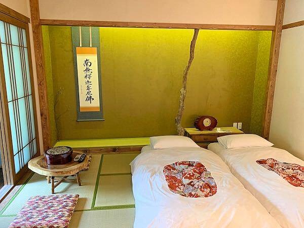 マユバンコクジャパニーズスタイルの客室1