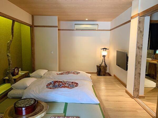 マユバンコクジャパニーズスタイルの客室2