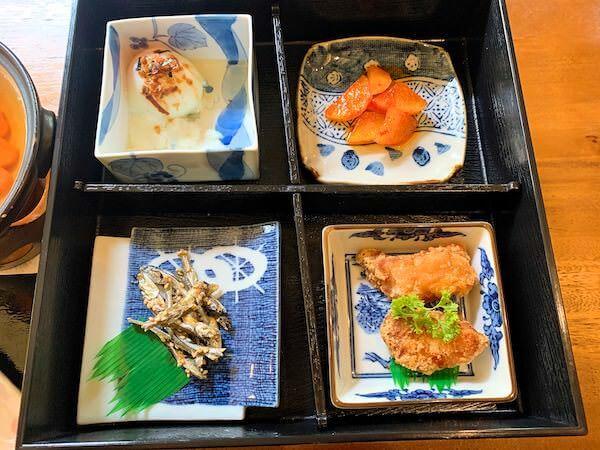 マユバンコクジャパニーズスタイルの朝食3