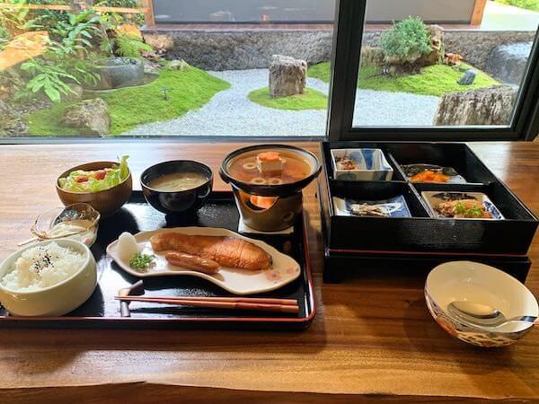 マユバンコクジャパニーズスタイルの朝食1