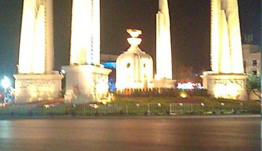 タイの反政府集会は、お祭りイベントと勘違いしてしまいそうな雰囲気