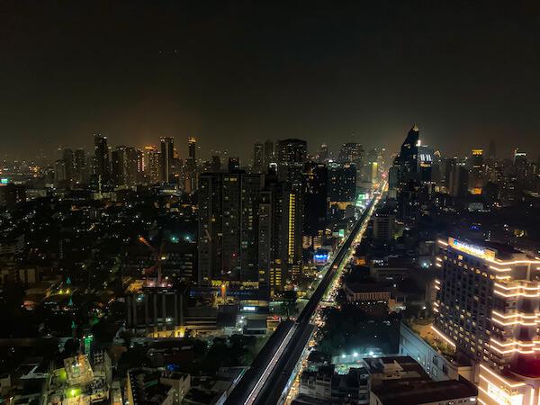 バンコクのオクターブ(Octave)から見える夜景2