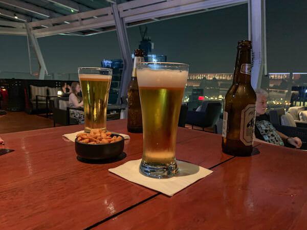バンコクのオクターブ(Octave)で飲んだビール
