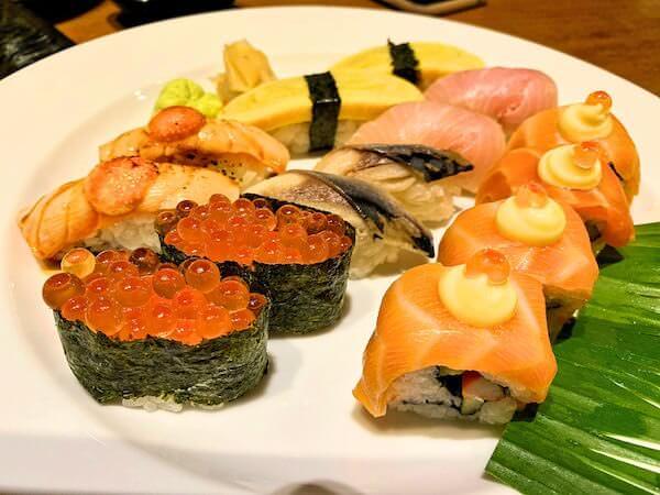 パタヤサードロードのスシローで食べた寿司1