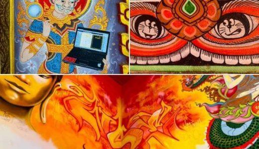 タイ寺院の面白い壁画特集。そんなのあり?日本だったら怒られそう