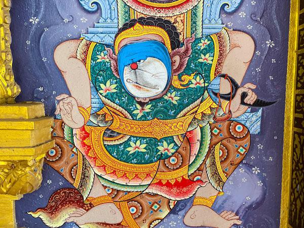 ワットチョンサマエサンの壁画2